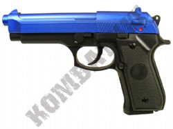 GAH9902 Airsoft BB Gun Black and Blue